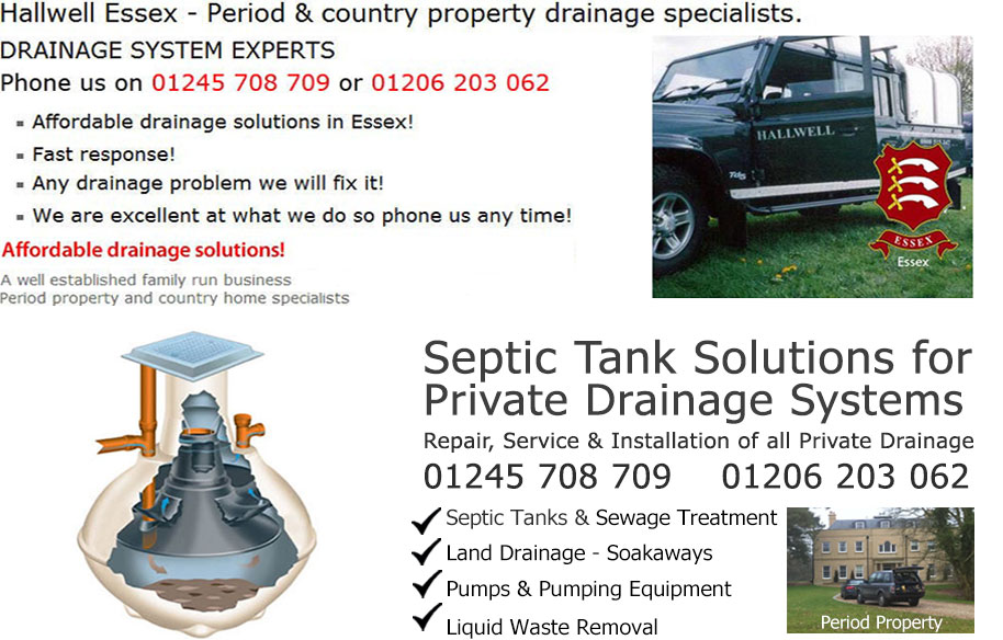 Essex Septic tank Drains Drain and drainage