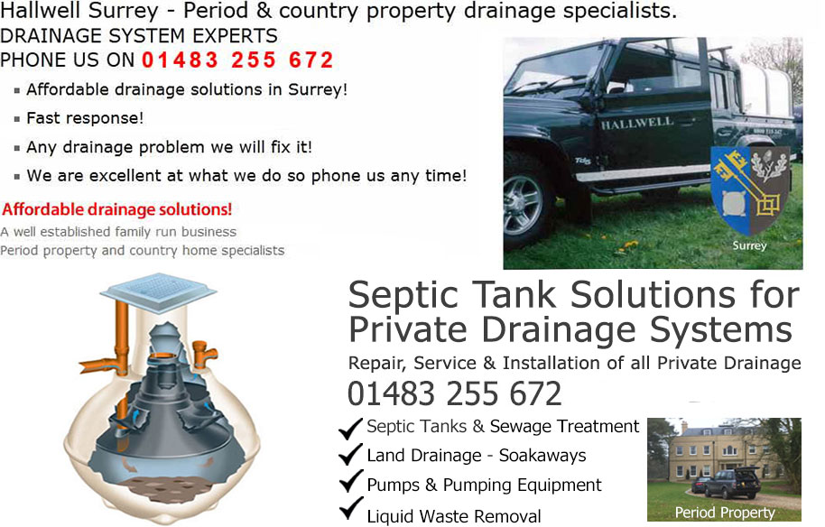 Surrey Drains Drain and drainage septic tank